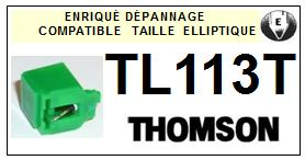 THOMSON TL113T <br>Pointe elliptique pour tourne-disques (stylus)<small> 2016-01</small>