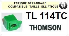 THOMSON<br> TL114TC Pointe (stylus) elliptique pour toune-disques <BR><small>sce 2015-08</small>