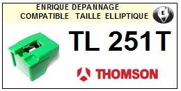 THOMSON <br> TL251T Pointe (stylus) diamant elliptique <BR><small>sce 2015-08</small>