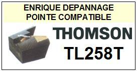 THOMSON TL258T <br>Pointe diamant sphérique pour tourne-disques (stylus)<small> 2015-11</small>