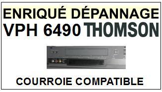 THOMSON-VPH6490-COURROIES-ET-KITS-COURROIES-COMPATIBLES