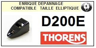 THORENS D200E <br>Pointe Diamant Elliptique (stylus)<small> 2015-10</small>