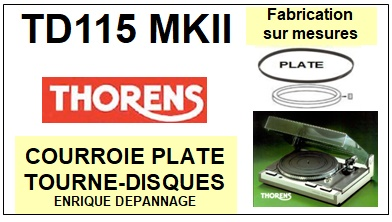 THORENS-td115mkii-COURROIES-ET-KITS-COURROIES-COMPATIBLES
