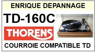 THORENS-TD160C TD-160C-COURROIES-ET-KITS-COURROIES-COMPATIBLES