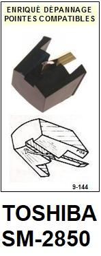 TOSHIBA-SM2850.  SM-2850-POINTES-DE-LECTURE-DIAMANTS-SAPHIRS-COMPATIBLES