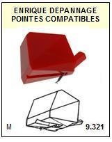 TOSHIBA<br> 63M Pointe (stylus) Diamant sphérique <BR><small>a 2015-08</small>