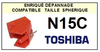 TOSHIBA N15C  <br>Pointe Diamant sphérique(stylus)<small> 2015-11</small