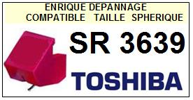 TOSHIBA SR3639  <br>Pointe  sphérique pour tourne_disques (stylus)<small> 2015-10</small>