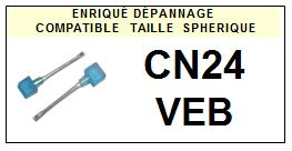 VEB<br> CN24 Pointe (stylus) Diamant sphérique<small> 2015-09</small>