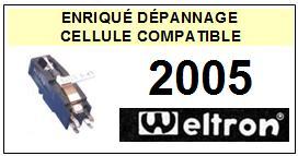 WELTRON platine 2005  Cellule diamant sphérique <SMALL> 13-08</small>
