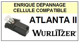 WURLITZER ATLANTA II (jukebox) Cellule diamant sphérique <BR><SMALL>c-cel 2014-02</small>