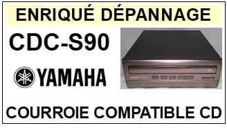 YAMAHA-CDCS90 CDC-S90-COURROIES-ET-KITS-COURROIES-COMPATIBLES
