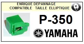 YAMAHA P350 P-350 <bR>Pointe diamant elliptique pour tourne-disques (stylus)<SMALL> 2015-12</small>