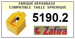 ZAFIRA 5190.2 (audio technica ATN3601 ATN91) <br>Pointe (stylus) Diamant sphérique <small>2015-09</small>