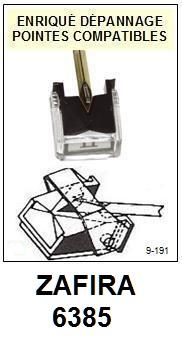 ZAFIRA<br> 6385 (philips gp400II gp500II) Pointe (stylus) Diamant sphérique <small>2015-09</small>