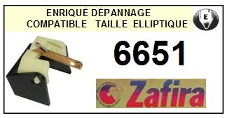 ZAFIRA 6651 (SHURE N95E N90E) <br>Pointe Diamant Elliptique (stylus)<small> 2015-12</small>