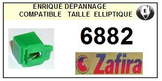 ZAFIRA 6882 (toa dd100) <br>Pointe Diamant Elliptique (stylus)<small> 2015-11</small>
